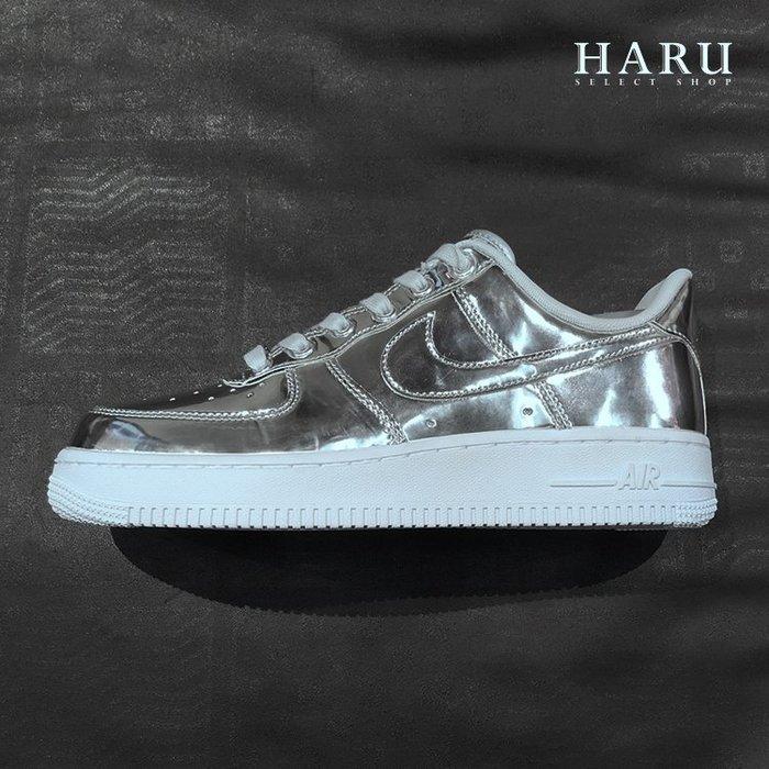 ☆HAru☆ Nike Air Force 1 SP 銀 籃球鞋 女鞋 CQ6566-001