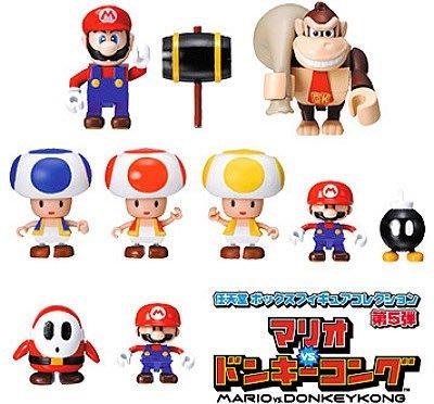 Yujin Super Mario 孖寶兄弟 Lego Kubrick Part 5 (全套7隻) 2004年