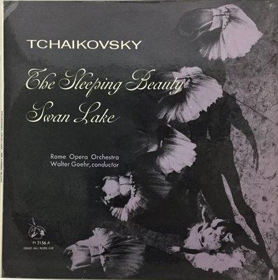 英版古典-Concert Hall/AM 2156A/柴可夫斯基:睡美人&天鵝湖/哥爾-羅馬歌劇院管弦樂團