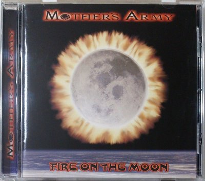 Mother's Army - Fire On The Moon 二手日版
