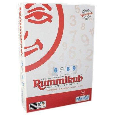 Rummikub 拉密紙牌版 (外出型簡易版)NO-8500/一盒入(促420) 拉密數字磚塊牌 哿哿桌遊 拉密牌 以色