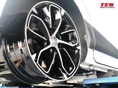 桃園 小李輪胎 TES 17吋 旋壓鋁圈 豐田 三菱 本田 凌智 日產 福特 現代 馬自達 納智傑 5孔114車用