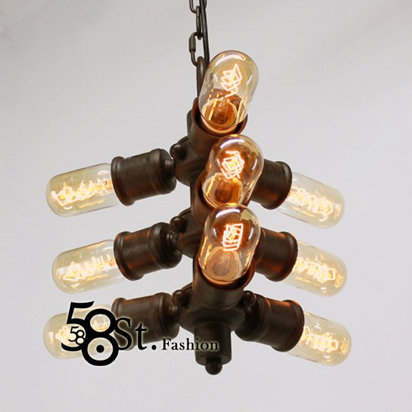 【58街】loft 風格「方向燈工業吊燈」。複刻版。GH-426