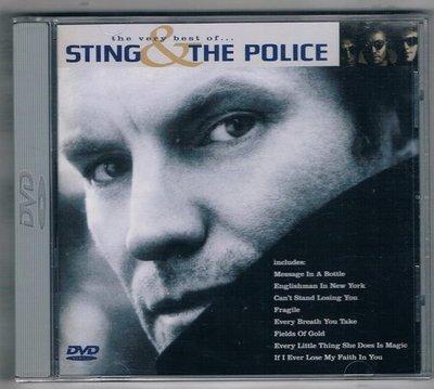 [鑫隆音樂]西洋DVD-史汀與警察合唱團:超級精選{POBM-1001}  全新/免競標