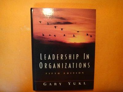 【愛悅二手書坊 14-07】LEADERSHIP IN ORGANIZATION