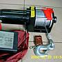 飛鷹牌 12VDC,3000LBS直流吊車/車用吊車//鋼索式/雪鍊/絞盤機/ 遙控式