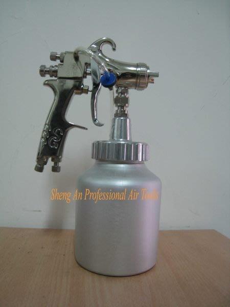 【台製氣動工具】日系超高霧化噴漆槍(吸上式) 加裝逆止閥防漏專利 100%台製品