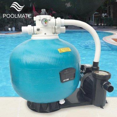 吸污機 游泳池水處理凈化器設備一體循環石英砂砂缸沙缸過濾器吸污機水泵  JD   全館免運