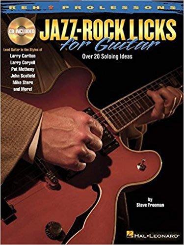反拍樂器 Jazz~Rock Licks for Guitar 吉他教材