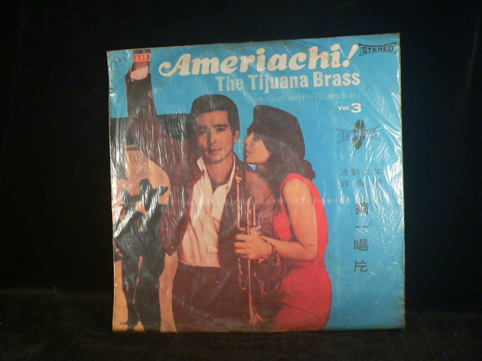 乖乖@賣場(LP黑膠唱片)12吋  AMERIACH THE  TIJUANA BRASS