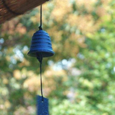 音韻清澈日本金屬掛飾日式鐵器鑄鐵南部風鈴