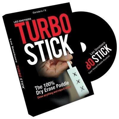 [魔術魂道具Shop] 美國原廠Turbo Stick by Richard Sanders~「超級。棒」~