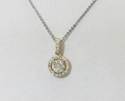 順利當舖  1.01ct 純白全美無瑕疵華麗鑽石墜子