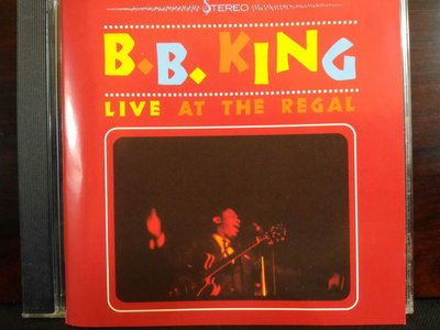 B.B.KING ~ Live At The Regal , Live In Cook County Jail,二張專輯,1000元,保存良好。