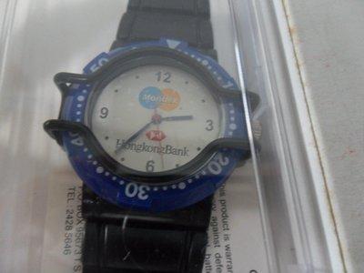 HONG KONG BANK 手錶MONDEX (全新)