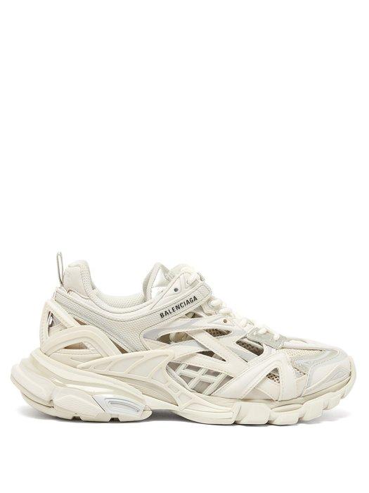 【代購】新款  BALENCIAGA  Track  2 復古 老爹鞋 老爸鞋 白色