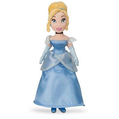 【紐約范特西】現貨/預購 Disney 原廠正品 Cinderella Mini Bean Bag 12H 灰姑娘 公主系列 絨毛娃娃