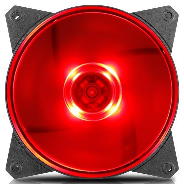 【免運】尊MF120L藍光/紅光/白光/無光機箱散熱風扇LED風扇12cm風扇