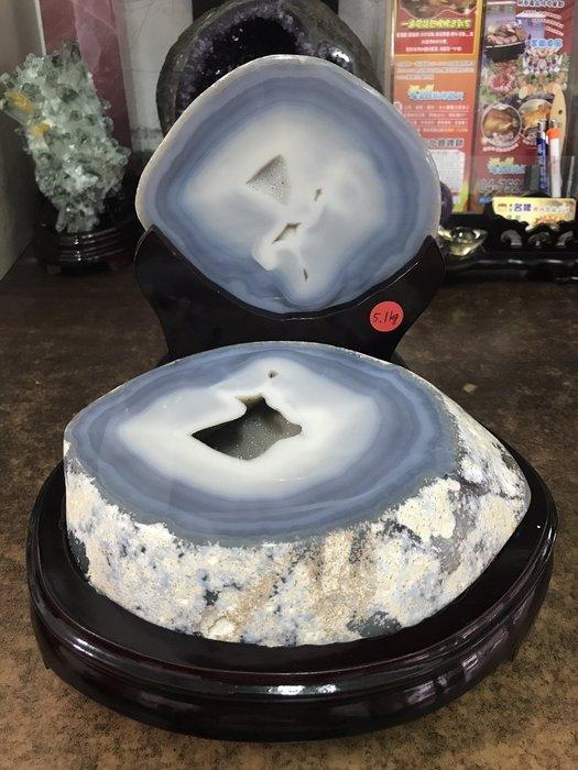瑪瑙聚寶盆5.1kg 瑪瑙聚寶盆晶洞 (現貨)