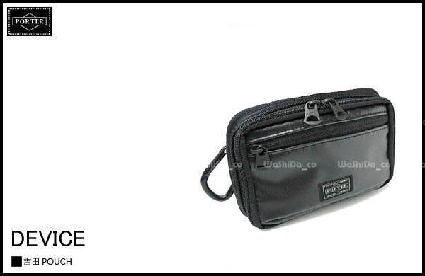 WaShiDa PLUS+【日本 吉田 PORTER × DEVICE 系列 腰掛包 手機包 相機包 小物包 L號 】- 預訂 645-07542