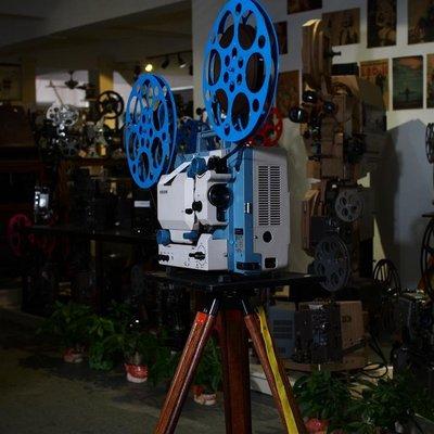 百寶軒 懷舊老電影日本古董北辰SC-21016毫米老式電影放映機功能正常 ZG3455