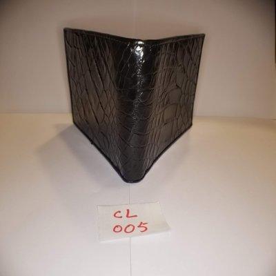 全新真鱷魚皮銀包$499,純人手製造,批發價發售,勿失良機!100% Genuine Crocodile Leather Wallet, handmade!