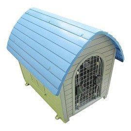 【??培菓寵物48H出貨??】PET HOUSE》GT-0902藍頂屋型寵物別墅屋 特價1999元(限宅配)