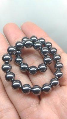 日本養生能量石 可溶冰 鈦赫茲 6MM 鈦赫茲手珠手鍊