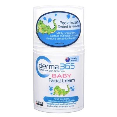 嬰幼兒有機臉霜Derma365 Baby Facial Cream, 50ml