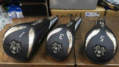 總統高爾夫(自取可刷國旅卡) MAJESTY PRESTIGIO 白金 至尊版 3號 5號 木桿套 磁扣式