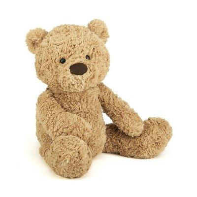 預購 英國 JELLYCAT 最精緻的絨毛玩具 可愛經典咖啡色熊寶貝 BUMBLY BEAR 生日禮 安撫玩偶 療癒娃娃