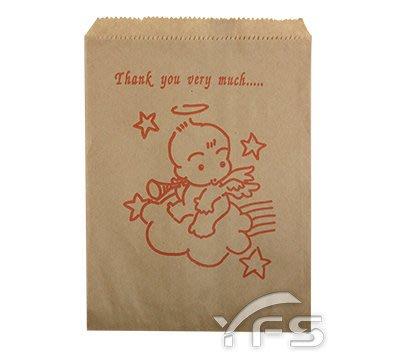 844牛皮紙袋 (薯條 雞蛋糕 紅豆餅 雞塊 紙袋)