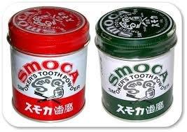 日本 SMOCA 強效美白 牙粉 去漬 茶垢 咖啡垢 潔牙粉 美白 除垢 牙齒 清潔 齒垢 牙膏【全日空】