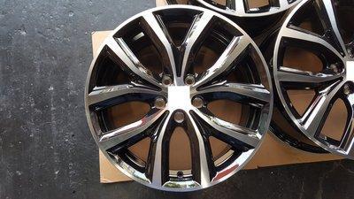 18吋鋁圈含新胎~黑底亮面BMW.F45.F48.X1.X2.MINI.F55.F56.A3.Q2.GOLF.SKODA
