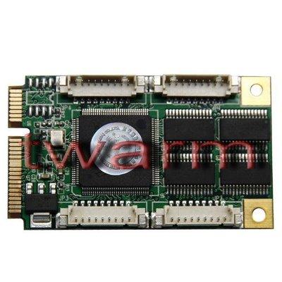 《德源科技》r)UT-7784 4口RS232 Mini PCI-E多串口卡