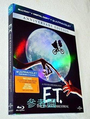 【BD藍光】E.T外星人:初回精裝外紙盒版The Extra Terrestrial(台灣繁中字幕)