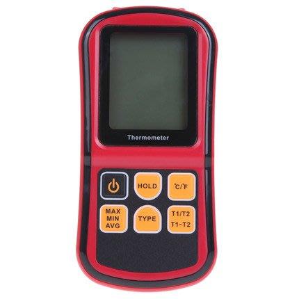 【玩具貓窩】標智GM1312熱電偶溫度計 接觸式測溫儀 高精度溫度測量儀 工業溫度計