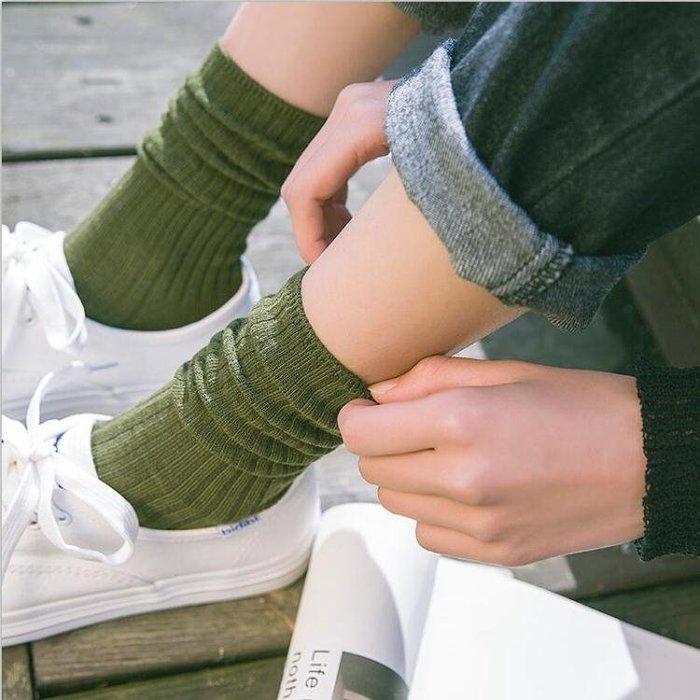 3雙裝堆堆襪女韓國潮個性襪子女中筒襪韓版學院風日系長襪