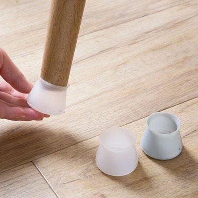 ☜shop go☞ 桌椅 靜音墊 防水 桌腳套 沙發墊 櫃子 桌子 矽膠  椅腳墊 桌腳墊 防滑 4入 【N128】