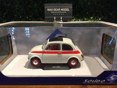 1/18 Solido Fiat 500 Nuova 500 Sport 1965 S1801401【MGM】