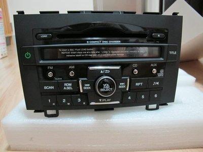 HONDA CRV3.5代 原廠 6片吸入式 MP3 音響主機