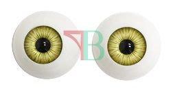 美製 Artificial Eyeball 人工眼珠 -- 黃色