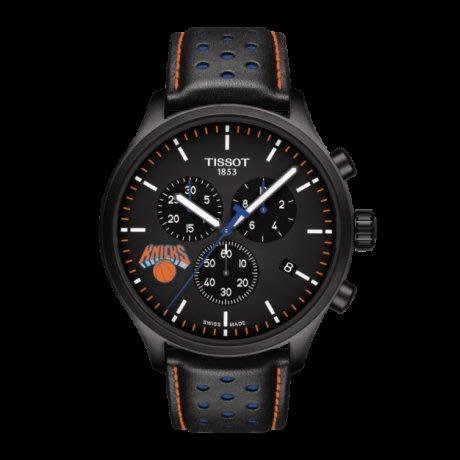 Tissot 天梭速馳系列皮帶石英男腕錶NBA紐約尼克斯隊款 T1166173605105