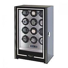 東暉國際代理 Rapport Paramount 12英國瑞伯特手錶自動上鍊盒收藏櫃防磁設計電子指紋鎖LED燈電子式轉速