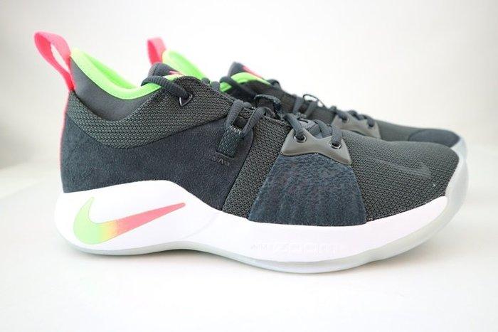 玉米潮流本舖 NIKE PG 2 EP AO2984-005 黑白綠橘  漸層  耐磨 籃球鞋