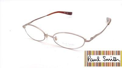 【本閣】Paul Smith PS9101 日本手工眼鏡超輕純鈦小框 男女復古光學眼鏡 999.9 tony same