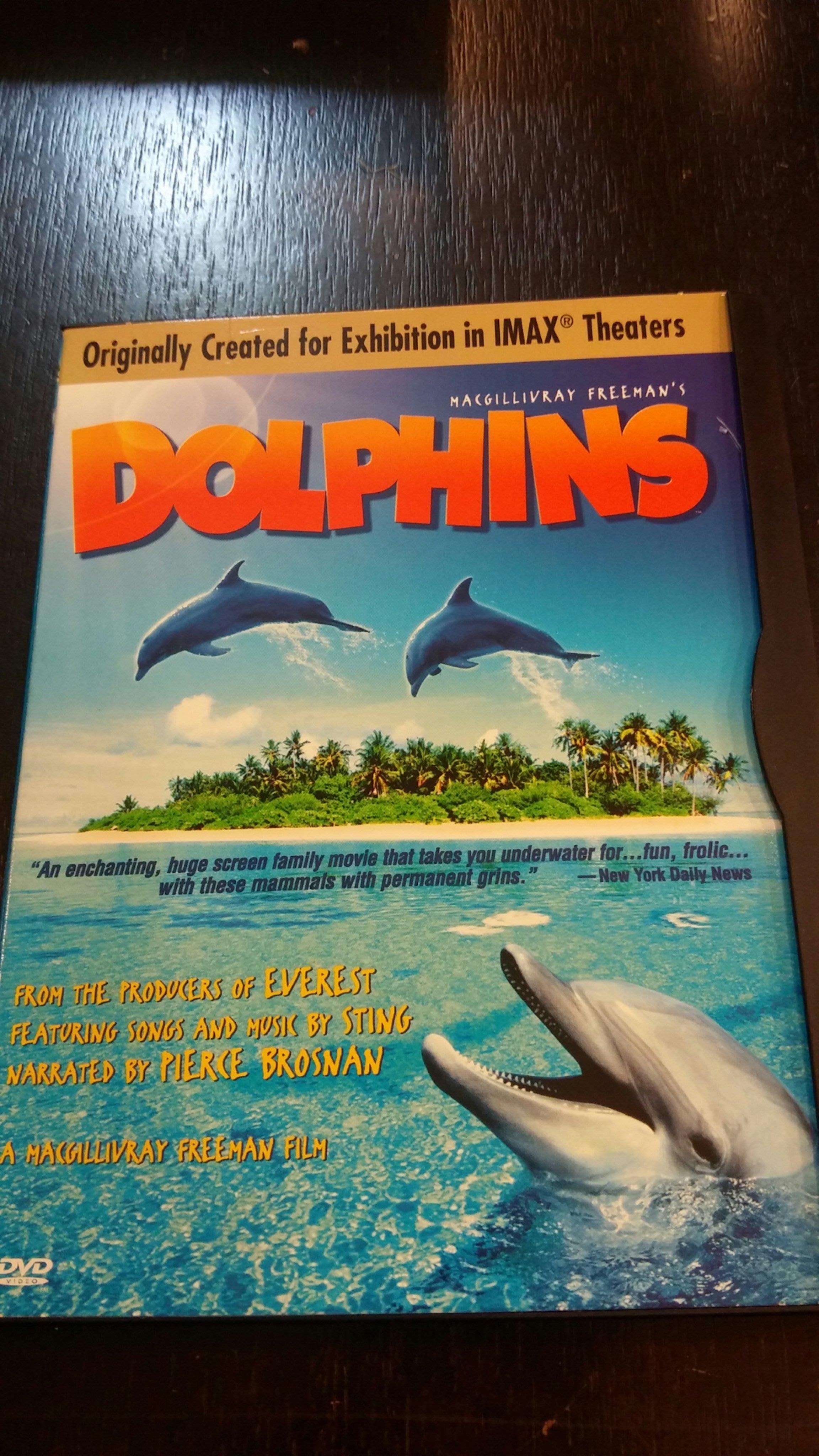 原版 Dolphins DVD (Originally created for exhibition in IMAX)