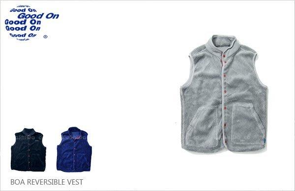 WaShiDa【gobw1507】Good On 日本品牌 雙面穿 登山 毛絨 搖粒絨 戶外 中層 背心 無袖 內搭