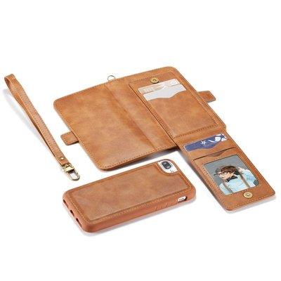 IPhone6s Plus I6s 牛皮仿製真皮 分離二合一 手機殼手機套書本皮套保護套保護殼背蓋後殼N1565