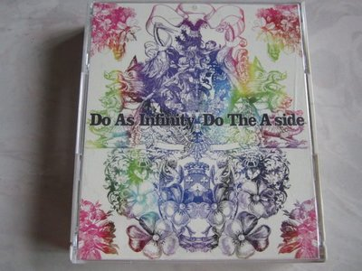 *日版CD  Do As Infinity 大無限樂團 Do The A-side ( 2CD+DVD) 精選輯BEST